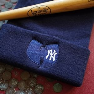 Wu Tang New York Yankees Beanie Hat